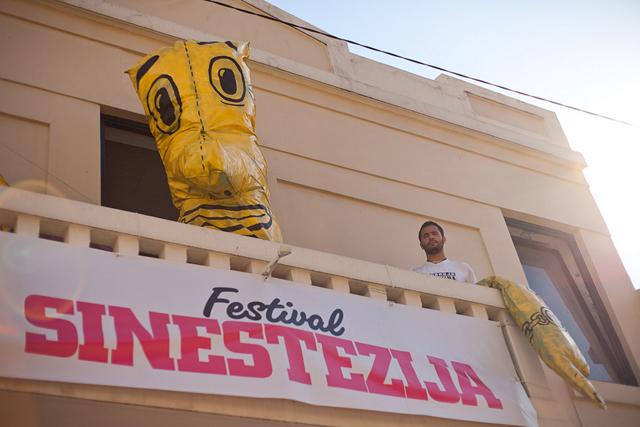 sinestezija 7 Predstavljanje festivala Sinestezija u Pančevu