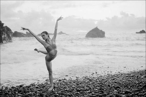 "na plazi Projekat ""Balerina"""