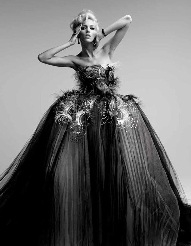 anja rubik patrick demarchelier 0 Patrik Demaršelije: Francuski kralj modne fotografije