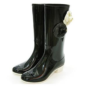 chanel395 Rain boots