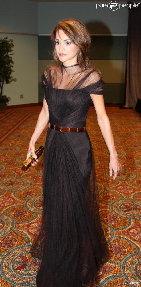 506968 rania de jordanie lors des tech awards 637x0 3 Royal Style: Queen Rania of Jordan