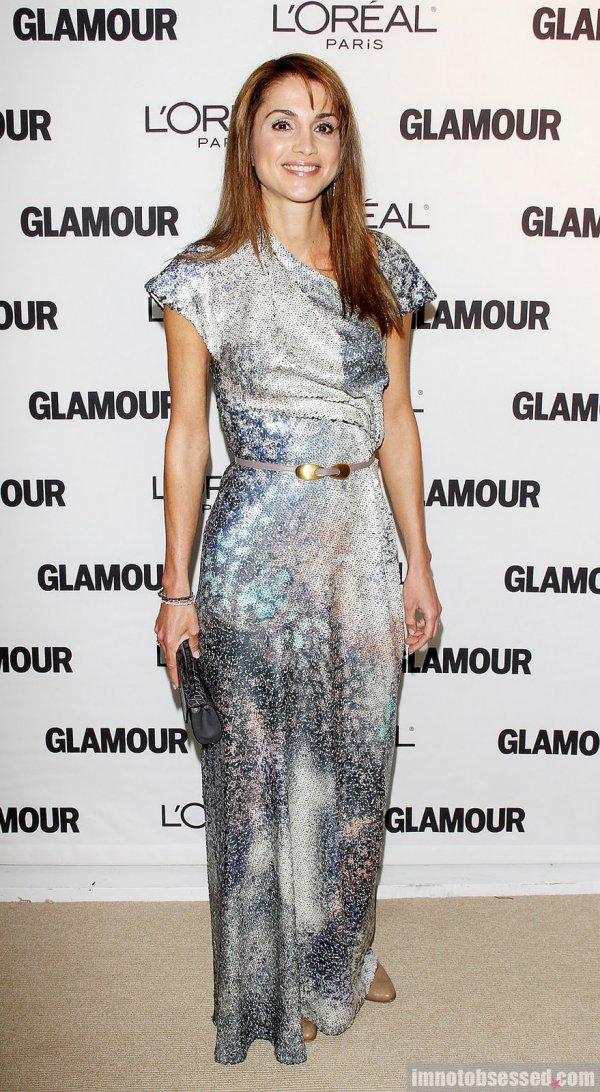 full glamour awards 082 wenn3088469 1 Royal Style: Queen Rania of Jordan