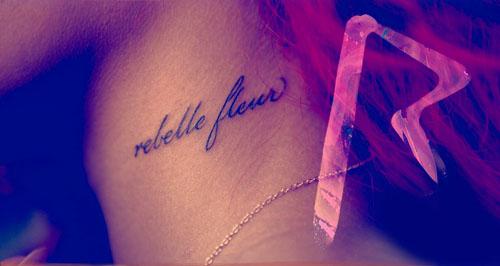 rebelle fleur rihanna Rebl Fleur