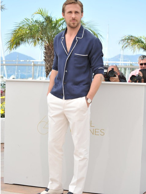 in cannes for the debut of the thriller drive star ryan gosling Pet minuta sa... Rajanom Goslingom