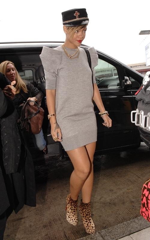 jetting out of berlin  september 29  2009 Stilske transformacije: Rihanna