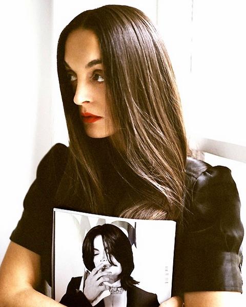 rushka bergman is a fashion editor Rushka Bergman