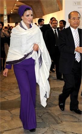 02 824547 0x440 Royal style: Sheikha Mozah bint Nasser Al Missned