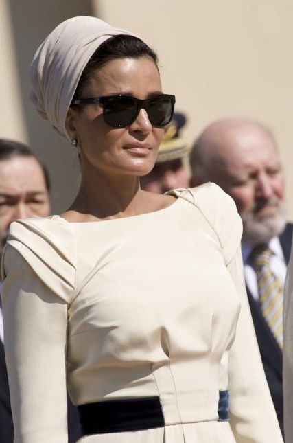2011427jdll96yndugjb3lc Royal style: Sheikha Mozah bint Nasser Al Missned
