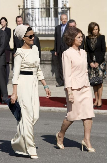 2011427ppvwz8htj0bkqefm Royal style: Sheikha Mozah bint Nasser Al Missned
