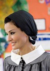298598 141463612611544 100002437184424 252234 7107910 n Royal style: Sheikha Mozah bint Nasser Al Missned