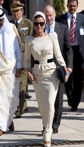 75d27e8ed21aa71f1011dadef3da Royal style: Sheikha Mozah bint Nasser Al Missned