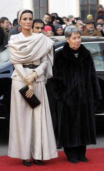 jequesa qatar a Royal style: Sheikha Mozah bint Nasser Al Missned