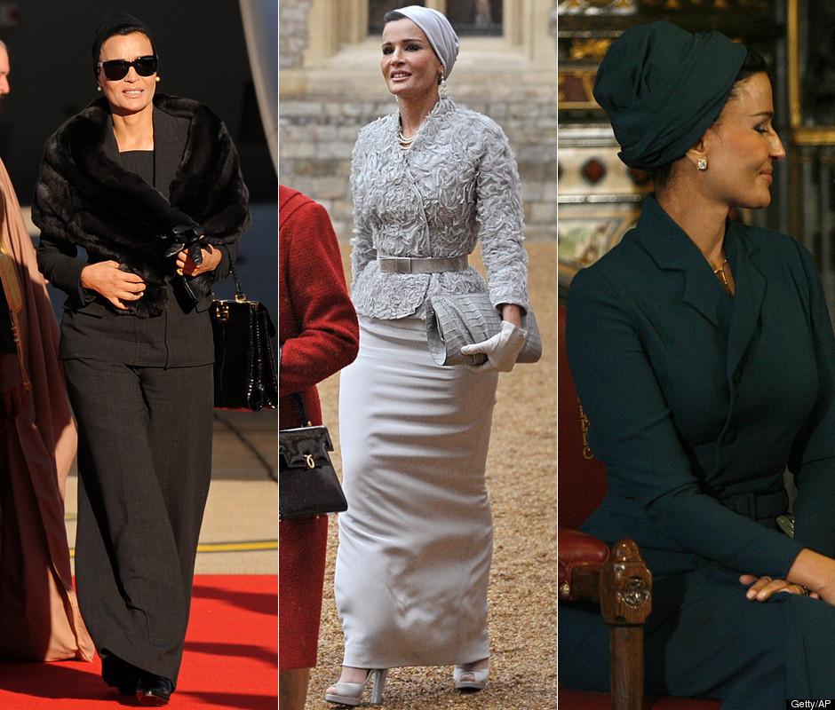 mozah Royal style: Sheikha Mozah bint Nasser Al Missned