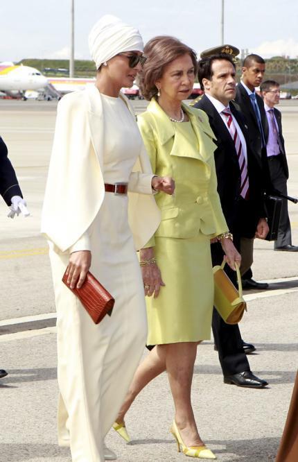 reinajequesa Royal style: Sheikha Mozah bint Nasser Al Missned