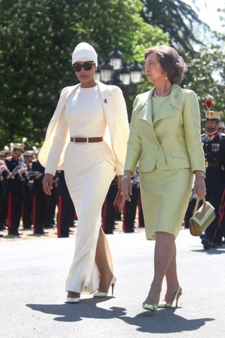 reinasofia Royal style: Sheikha Mozah bint Nasser Al Missned