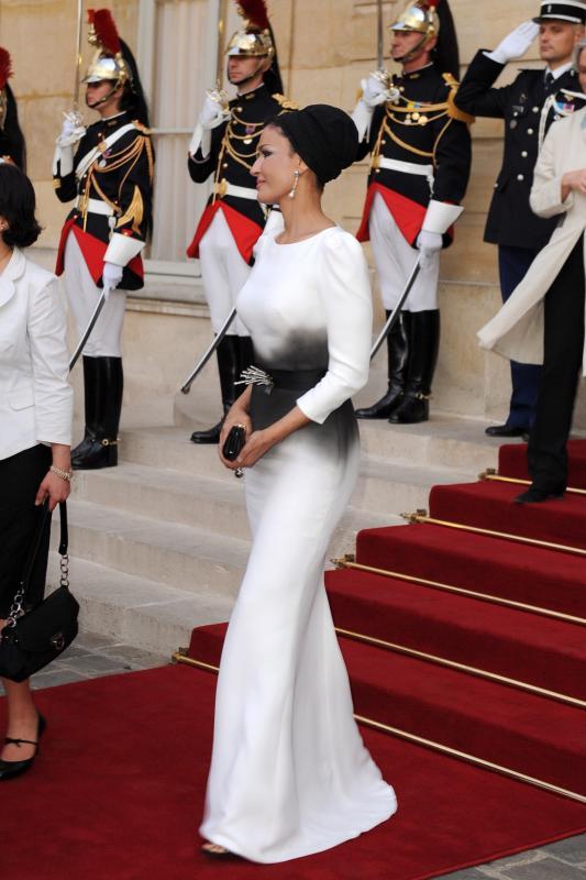 sheikha mozah Royal style: Sheikha Mozah bint Nasser Al Missned