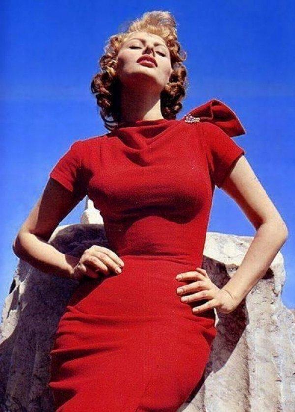 haljina2 La Moda Italiana: Sofija Loren