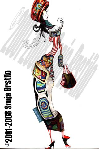 sonjabrstilo5 Modne ilustracije širom sveta