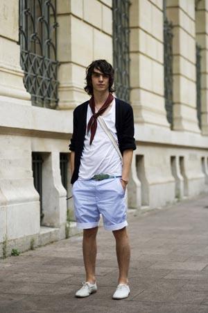 6288blushortsfh2 Street Fashion: Men