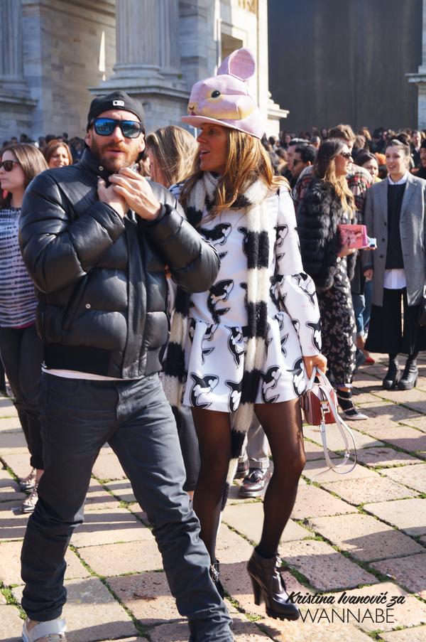 008 Street Style Milan Fashion Week: Svi ti kaputi
