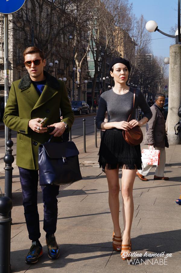 010 Street Style Milan Fashion Week: Svi ti kaputi