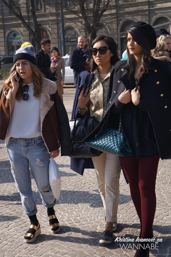 023 Street Style Milan Fashion Week: Svi ti kaputi