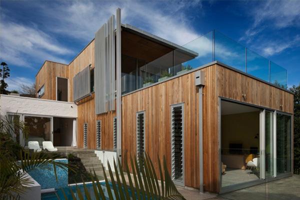 brown vujcic kuca 2 ako volite prirodne materijale Stvarno dobar arhitekta: Pete Bossley