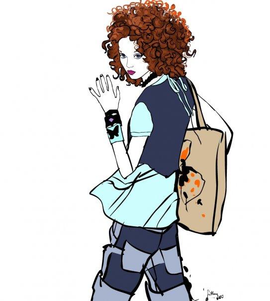 svetlanasimeunovic1 Modne ilustracije širom sveta