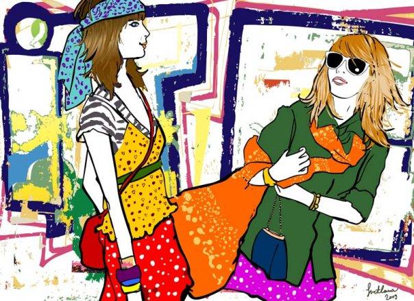 svetlanasimeunovic3 Modne ilustracije širom sveta