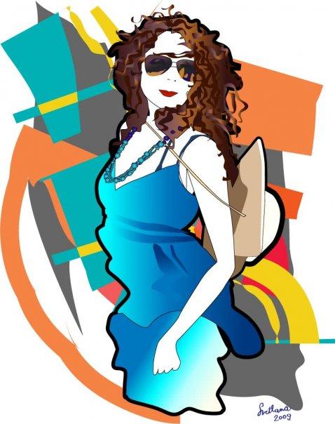 svetlanasimeunovic4 Modne ilustracije širom sveta