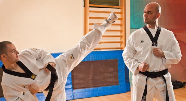 12 Kad udara Taekwondo