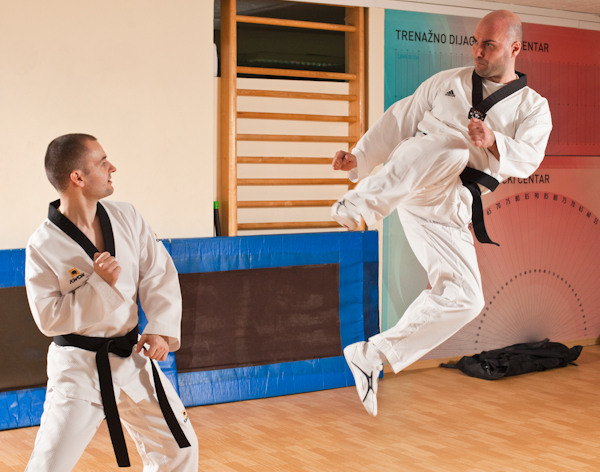 13 Kad udara Taekwondo