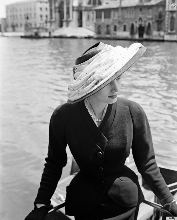o hat 570 1 The Best Vintage Moments: Christian Dior