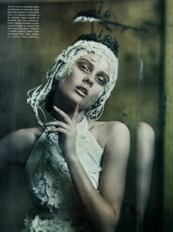 haute couture vogue italia september 2011 11 The Haute Couture for Vogue Italia, septembar 2011.