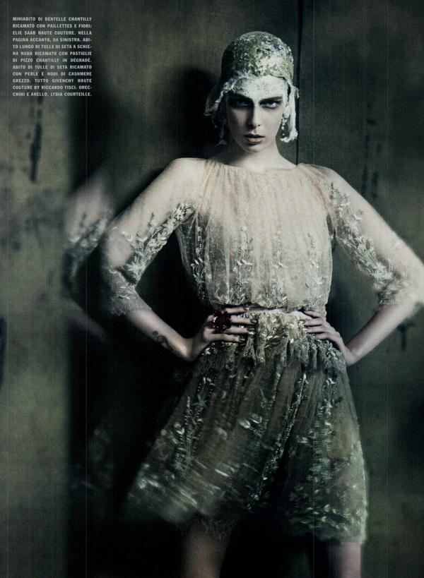 haute couture vogue italia september 2011 14 The Haute Couture for Vogue Italia, septembar 2011.