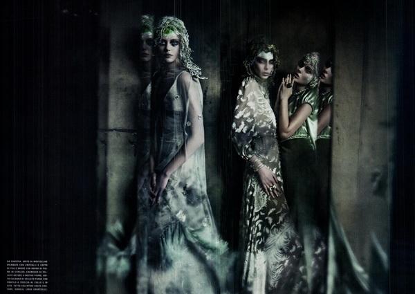 haute couture vogue italia september 2011 20 The Haute Couture for Vogue Italia, septembar 2011.