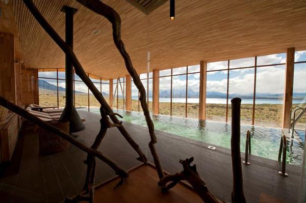 dizajneri su se zaista potrudili da svaki kutak hotela bud eprijatan i prorodan Tierra Patagonija: Biser Čilea posvećen ljubiteljima prirode