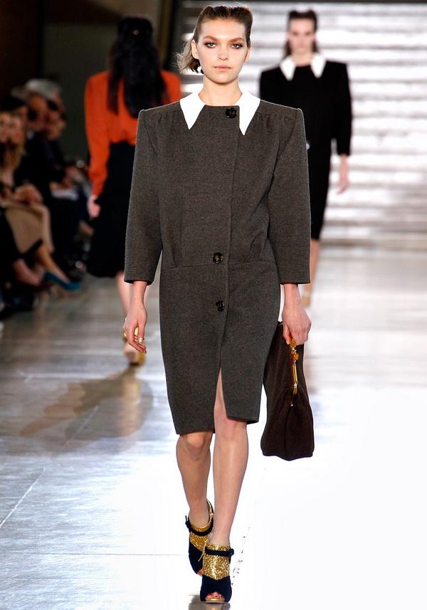 miu miu rtw fw2011 runway coatdress Back to Tiffanys