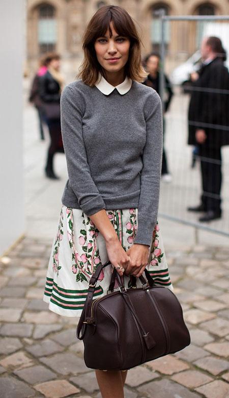 alexa chung peter pan collar 1 Moda Holivuda: Trend izveštaj