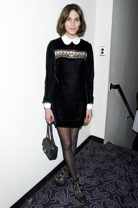 alexa chung peter pan collar Moda Holivuda: Trend izveštaj