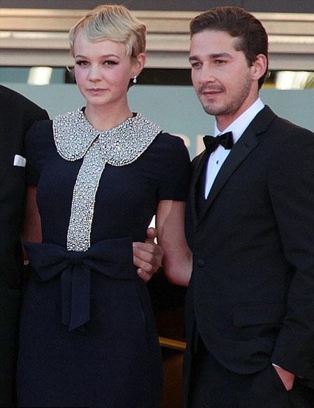 carey mulligan peter pan collar 1 Moda Holivuda: Trend izveštaj
