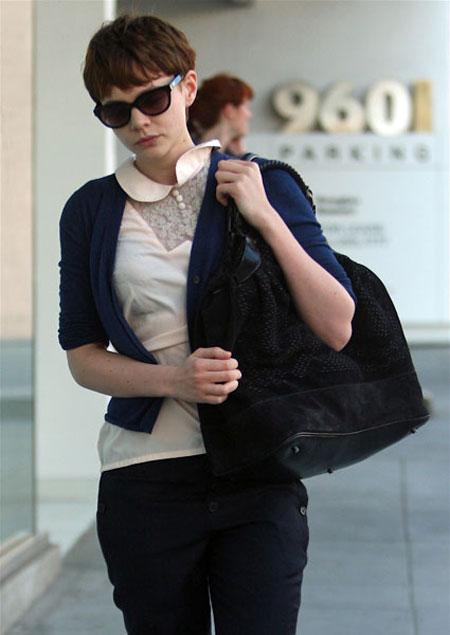 carey mulligan peter pan collar Moda Holivuda: Trend izveštaj