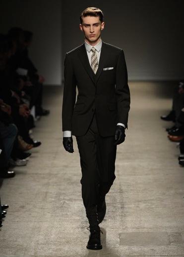 three piece suit dunhill Trodelno odelo: muški modni trend za jesen zimu 2010/11
