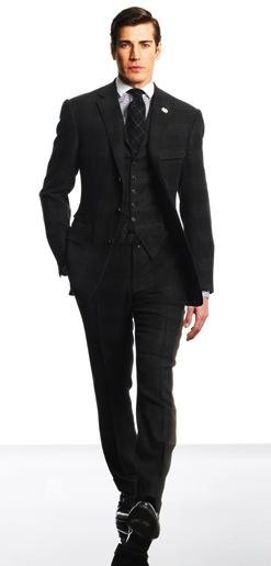 three piece suit ralph lauren Trodelno odelo: muški modni trend za jesen zimu 2010/11