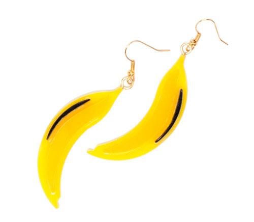prada banana earring Modni trend: Tutti Frutti