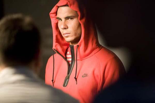 david sims karl templer nike sportswear rafael nadal 1 U krevetu sa... Rafaelom Nadalom