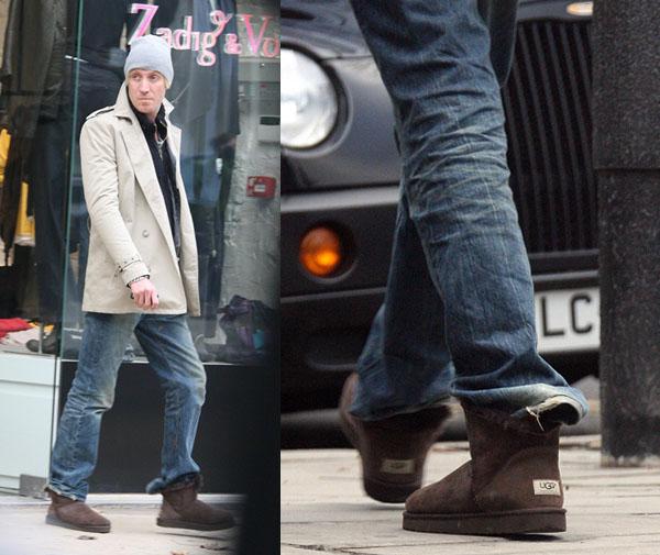 uggs men rhys ifans boot slipper sheepskin Muškarci i Ugg čizme?