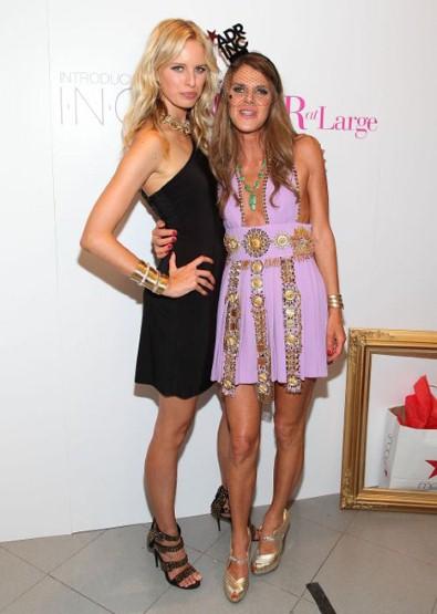 anna dello russo karolina kurkova Vogue Fashions Night Out New York