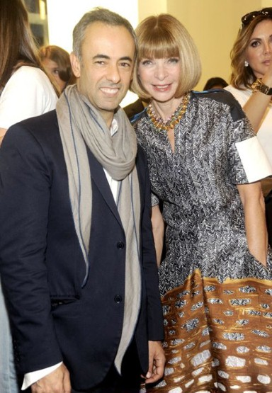 anna wintour Vogue Fashions Night Out New York