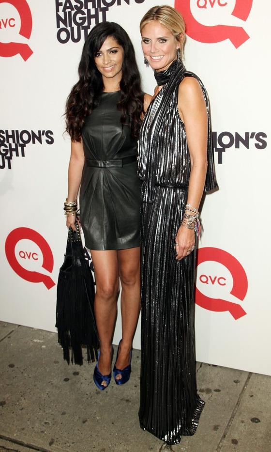 camila alves heidi klum Vogue Fashions Night Out New York